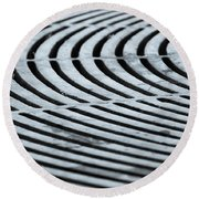 Life Is Grate Round Beach Towel