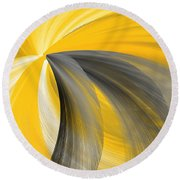Light Beyond Round Beach Towel