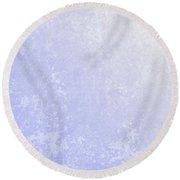 Light Grunge Texture Purple Yellow Photoshop Dirty Blue Glow Round Beach Towel