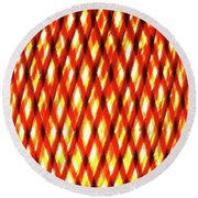 Light Infused Round Beach Towel