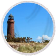 Lighthaus Darss Round Beach Towel