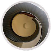 Cabrillo Spiral Staircase Round Beach Towel