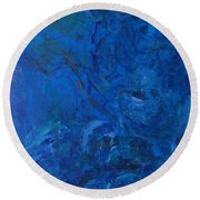 Lightweight Nebula Xxx Round Beach Towel