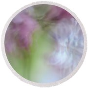 Lilac. Spring Vibrations Round Beach Towel