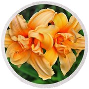 Lilies Collection - 1 Round Beach Towel