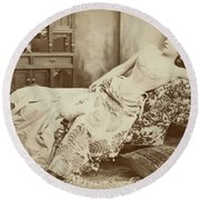 Lillie Langtry (1852-1929) Round Beach Towel