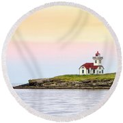 Lime Kiln II Round Beach Towel