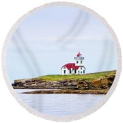 Lime Kiln Iv Round Beach Towel