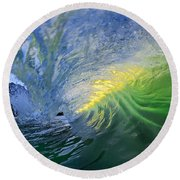 Limelight Round Beach Towel