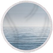 Limitless Round Beach Towel