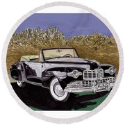 Lincoln Continental Mk I Round Beach Towel