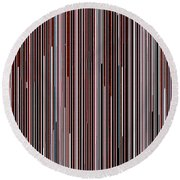 Lineal 04 Round Beach Towel