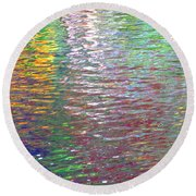 Linearized Light Round Beach Towel