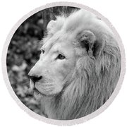 Lion Oh My Round Beach Towel