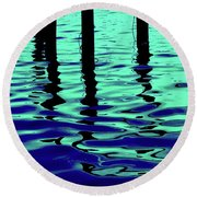 Liquid Cool Round Beach Towel
