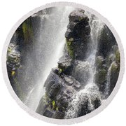 Lisbon Falls, South Africa. Round Beach Towel