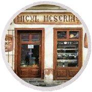 Little Craftsman' Shop - Micul Meserias Round Beach Towel
