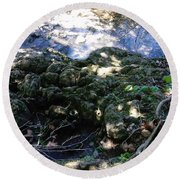 Little Creek Round Beach Towel