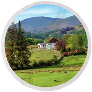 Little Langdale - Lake District Round Beach Towel
