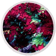 Little Miracles Round Beach Towel