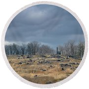 Little Round Top Round Beach Towel