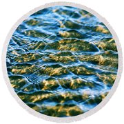 Living Structures-2 Round Beach Towel