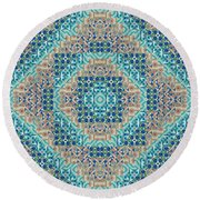 Living With Endless Potential 2 - A  T J O D 5-6 Compilation Inverted Round Beach Towel