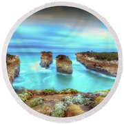 Loch Ard Gorge Pre Dawn Round Beach Towel