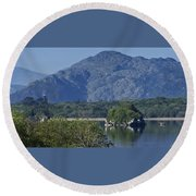 Loch Leanne Killarney Ireland Round Beach Towel