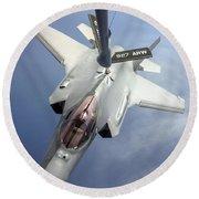 Lockheed Martin F-35 Lightning II, 2016 Round Beach Towel