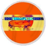 Logo Rullante Hd Round Beach Towel