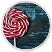 Lollipop Round Beach Towel