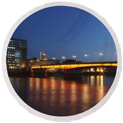 London Bridge Round Beach Towel