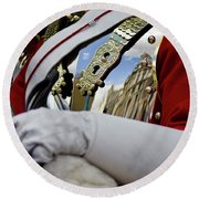 London Reflections Round Beach Towel