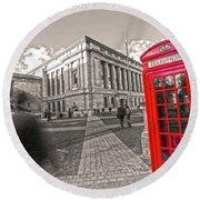 London Telephone 2 C Round Beach Towel
