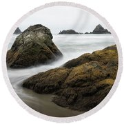 Lone Ranch 4898 Round Beach Towel