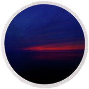 Long Color  Round Beach Towel