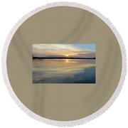 Long Hall Round Beach Towel