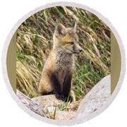 Look-out Round Beach Towel