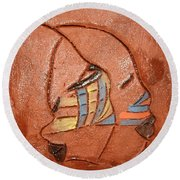 Looking Glass - Tile Round Beach Towel