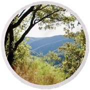 Lookout Round Beach Towel
