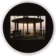 Lookout Point Round Beach Towel