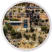 Lookout Studio @ Grand Canyon Round Beach Towel