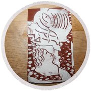Lord Bless Me 1 - Tile Round Beach Towel