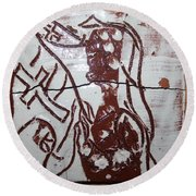 Lord Bless Me 12 - Tile Round Beach Towel