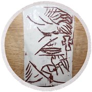 Lord Bless Me 17 - Tile Round Beach Towel