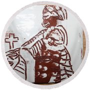 Lord Bless Me 21 - Tile Round Beach Towel