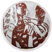 Lord Bless Me 3 - Tile Round Beach Towel