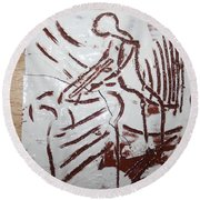 Lord Bless Me 5 - Tile Round Beach Towel