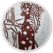 Lord Bless Me 6 Tile Round Beach Towel